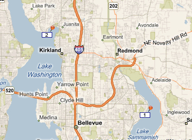 Seattles Eastside Waterfront Home Sales in Bellevue Kirkland